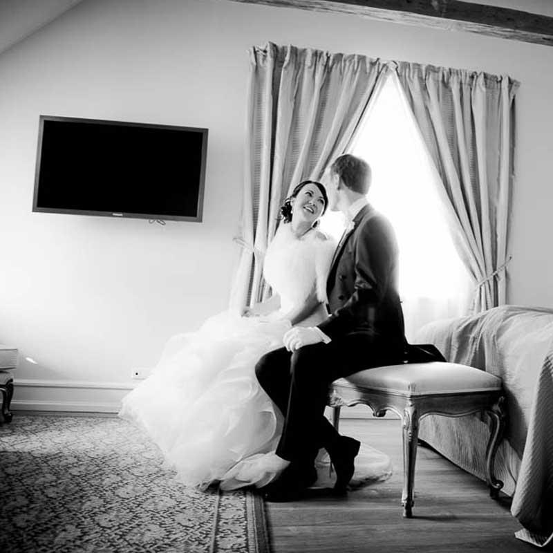 fotografering af et bryllup