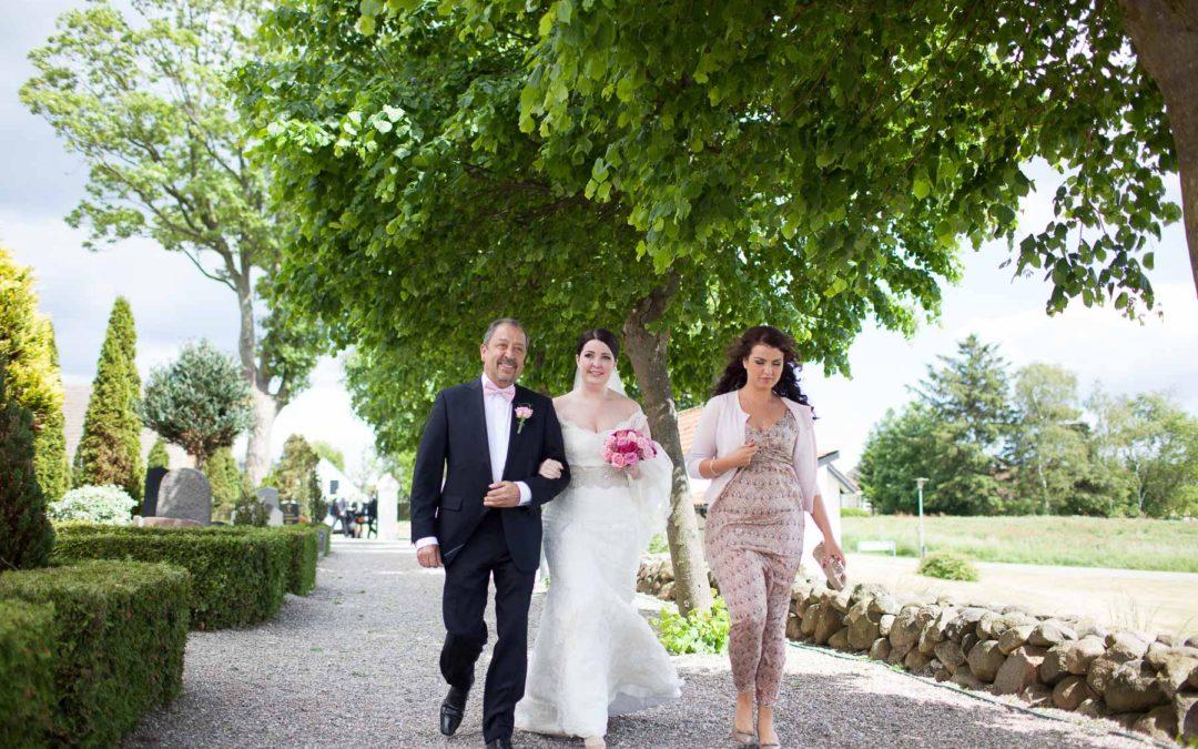 Udendørs bryllup - bryllupsfotografens drøm