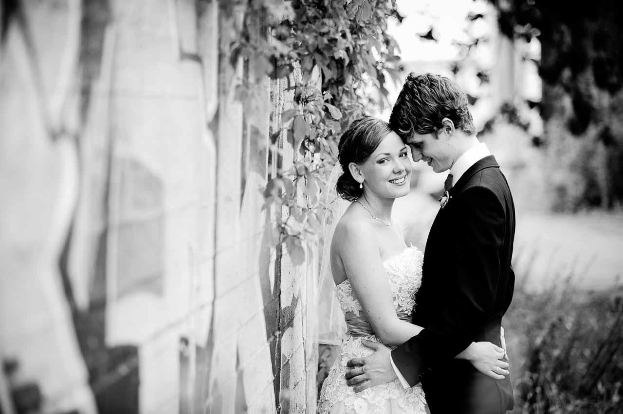 Portrætfotografering ved brylluppet