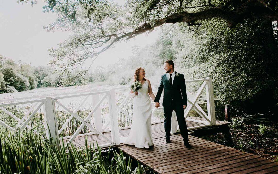Bryllupsbiller af brudeparret