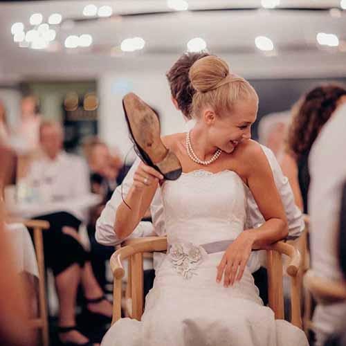 Perfekt dag til et bryllup